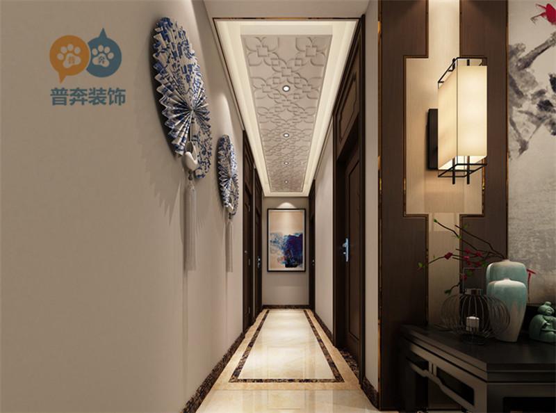 洛阳盛世新天地164平4室2厅 典雅中式风格beplay体育苹果下载助手效果图