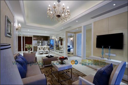 洛龙区河洛文化村148平三室两厅设计装修方案效果图