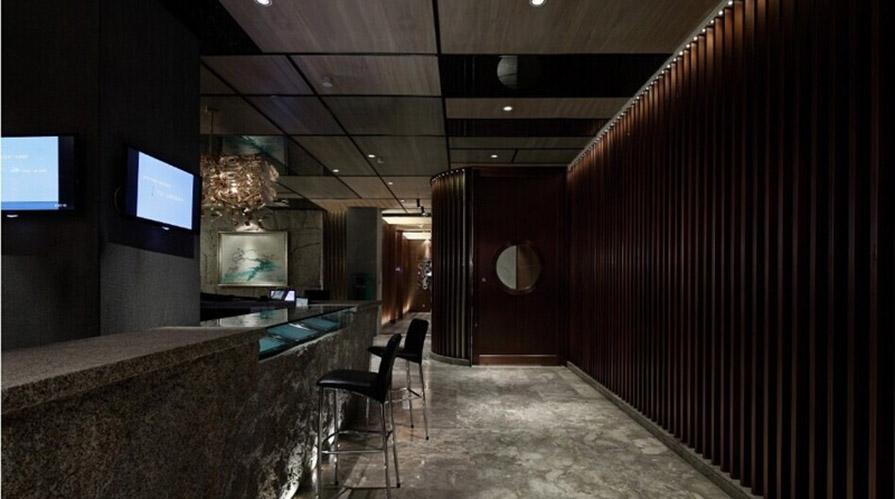 淮南装修案例高级咖啡厅装修设计170方