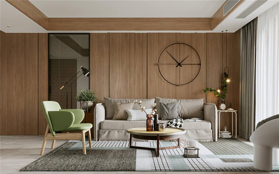六安装修案例丽水康城 现代风格