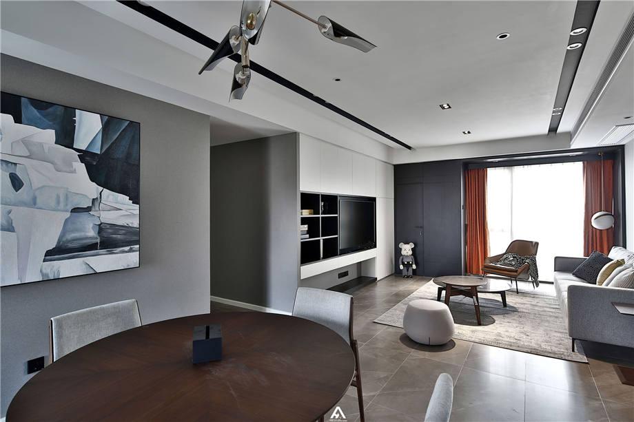 六安装修案例恒生阳光城 现代风格