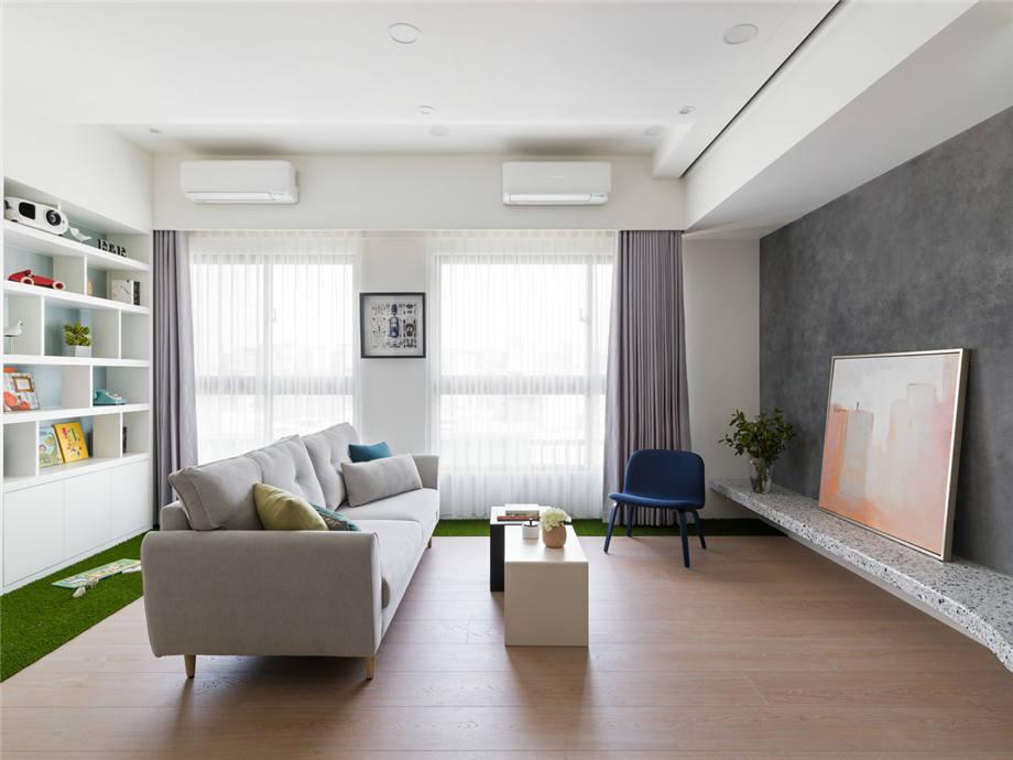 六安装修案例南河福龙湾 现代简约