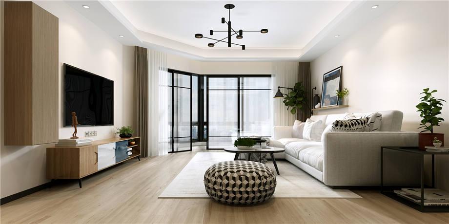 六安装修案例北城国际 现代风格