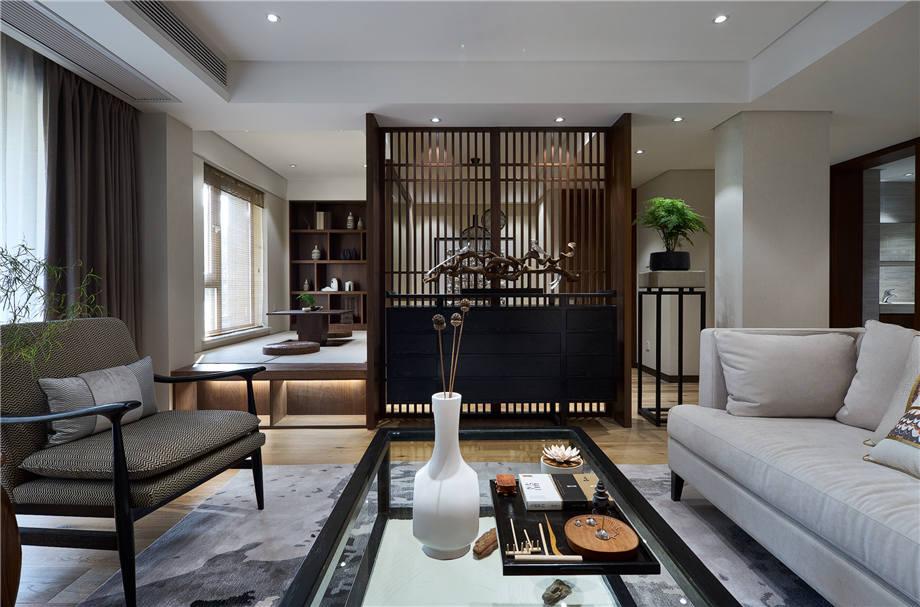 六安装修案例长安城 新中式风格