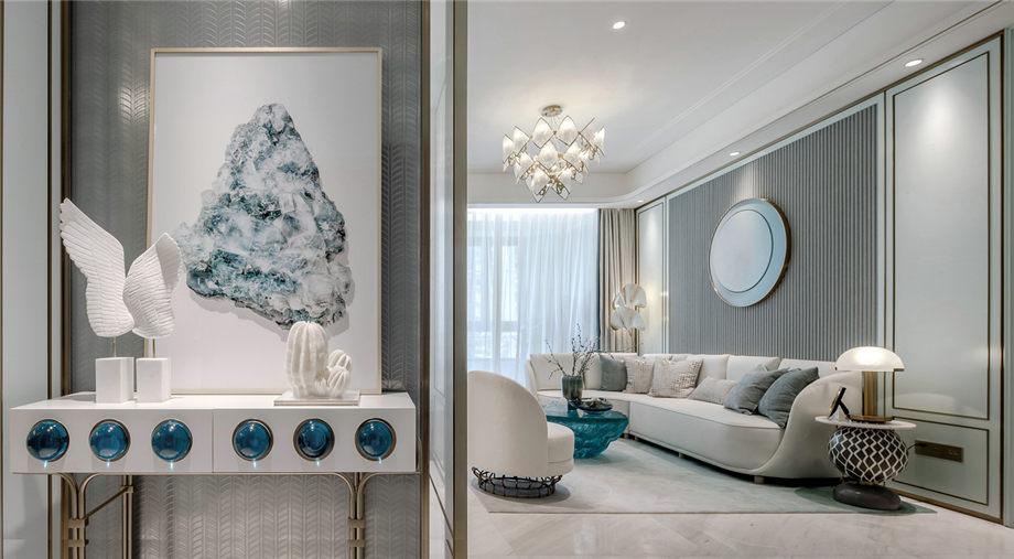 六安裝修案例南洋現代城 輕奢風格