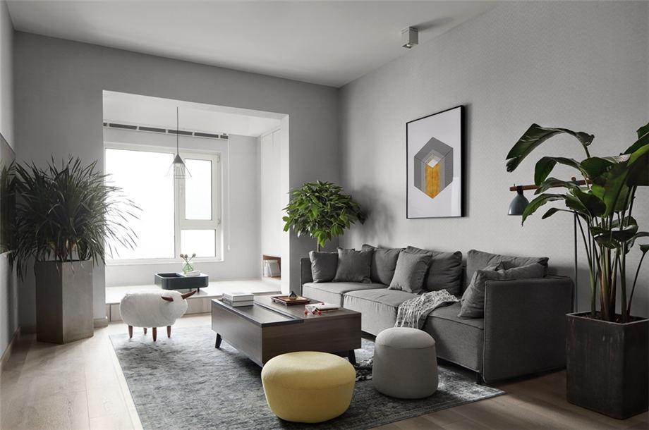 六安裝修案例北城國際 現代風格