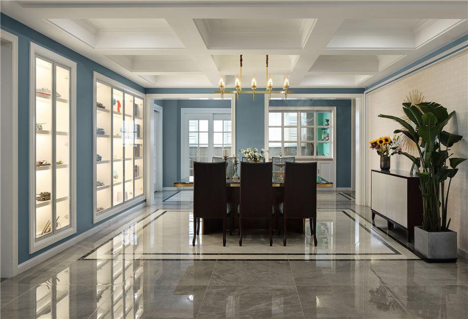 六安装修案例南洋现代城 美式风格