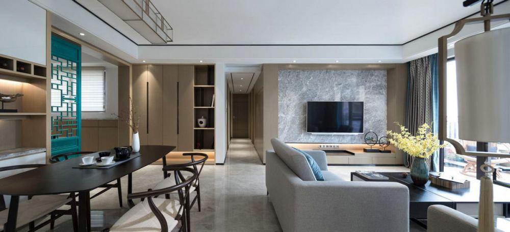 达州装修案例魏雄现代中式家装案例