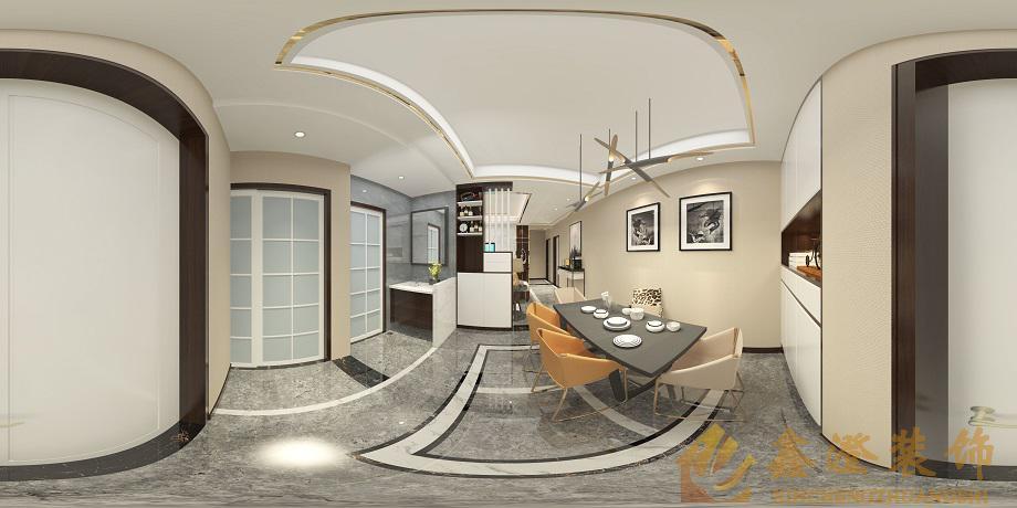 达州家装公司一新国际新古典风格