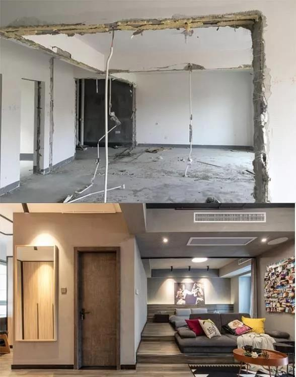 89㎡旧房翻新