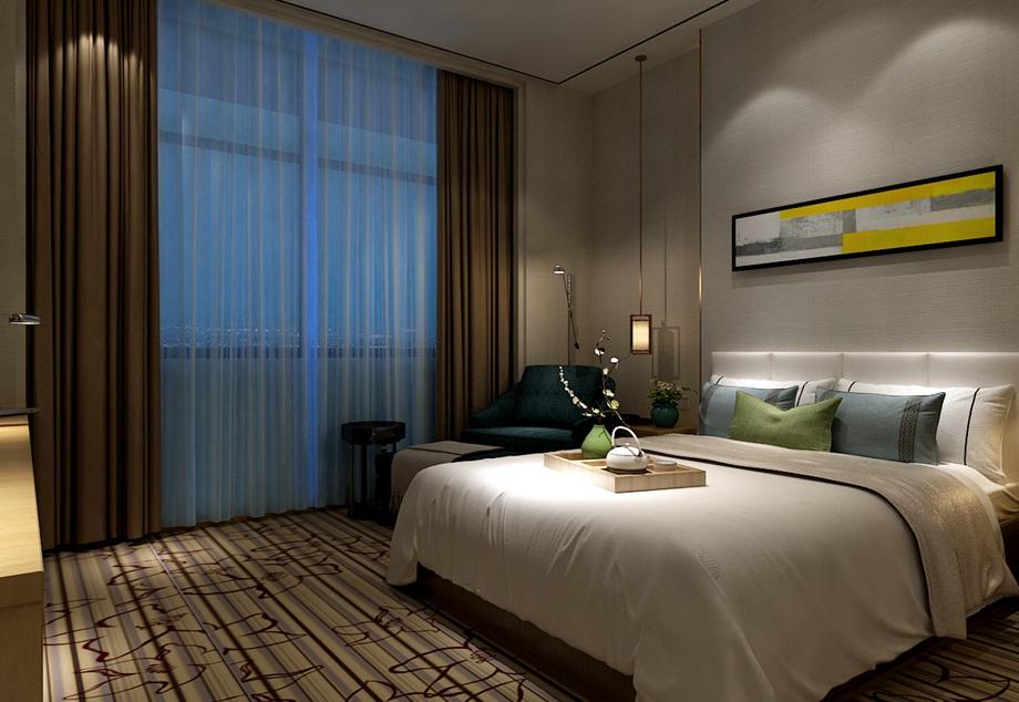 東莞裝修案例石排鎮月亮之家連鎖酒店客房