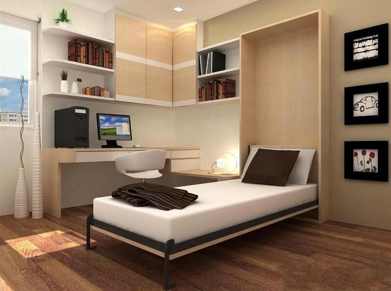 二手房装修用隐形床,白白多出一间房!