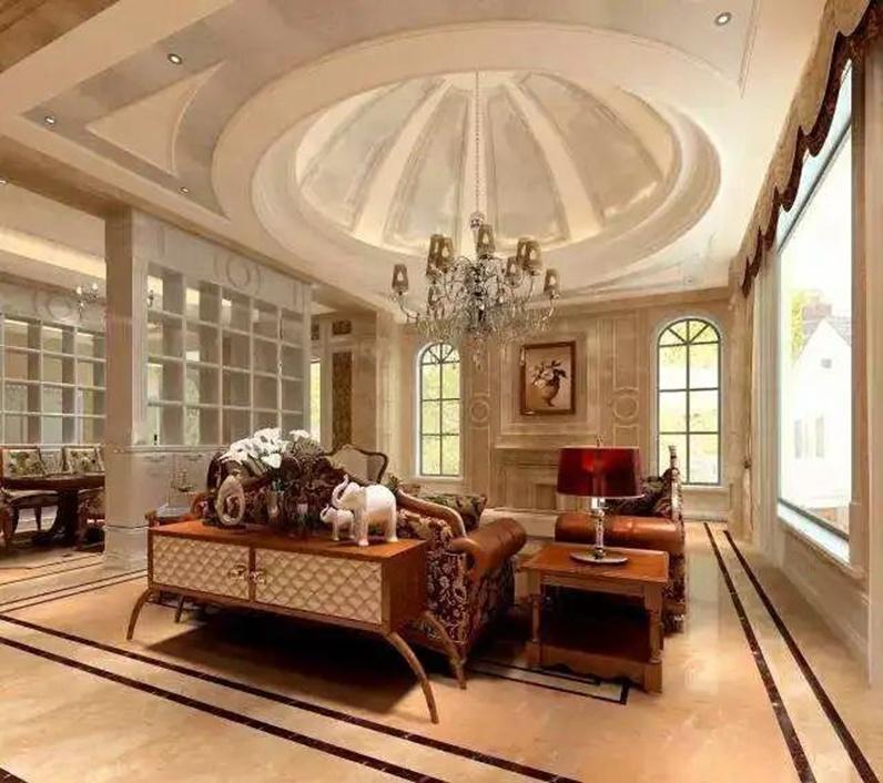 沈阳客厅翻新案例|客厅的6种吊顶设计,修饰空间,提升格调!