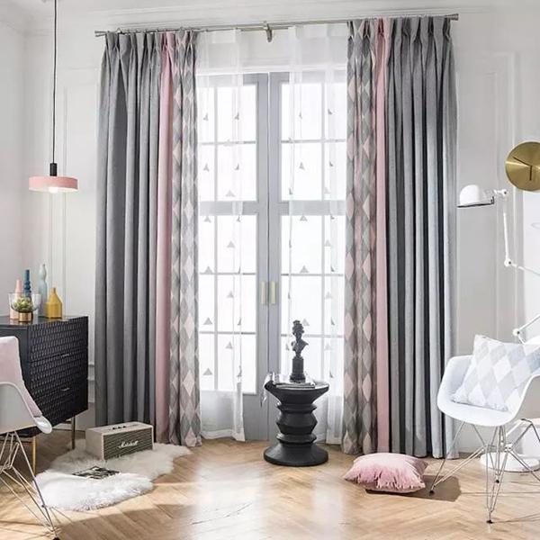 沈阳客厅翻新改造|六种客厅窗帘搭配,时尚高端又大气!