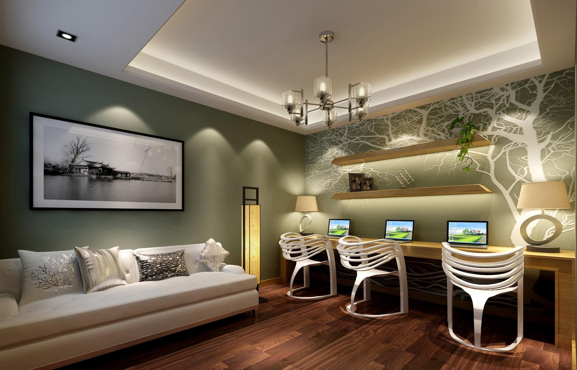 昆明装修效果图欣赏——建礼家园现代简约风格