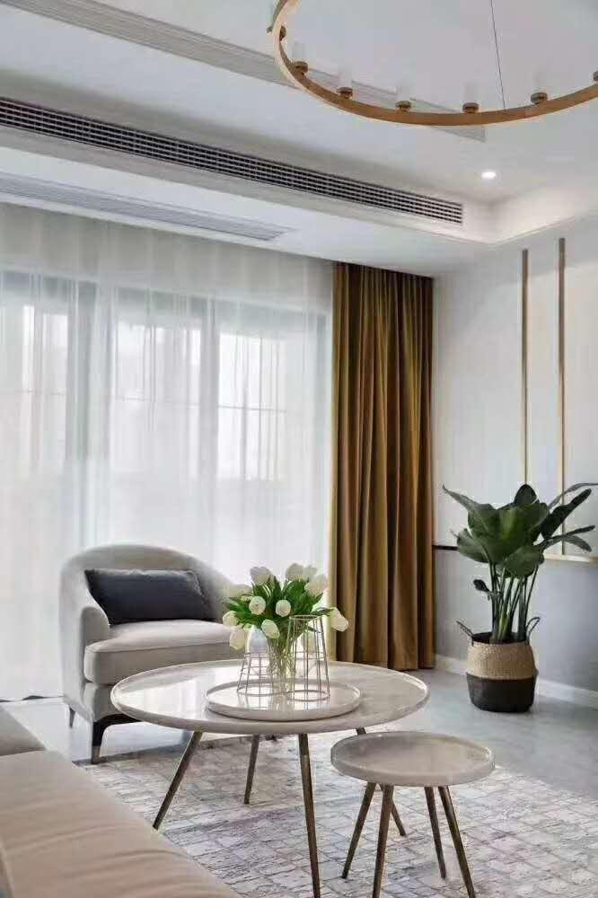 141㎡轻奢美式3室2厅,卡座餐厅营造优雅情调