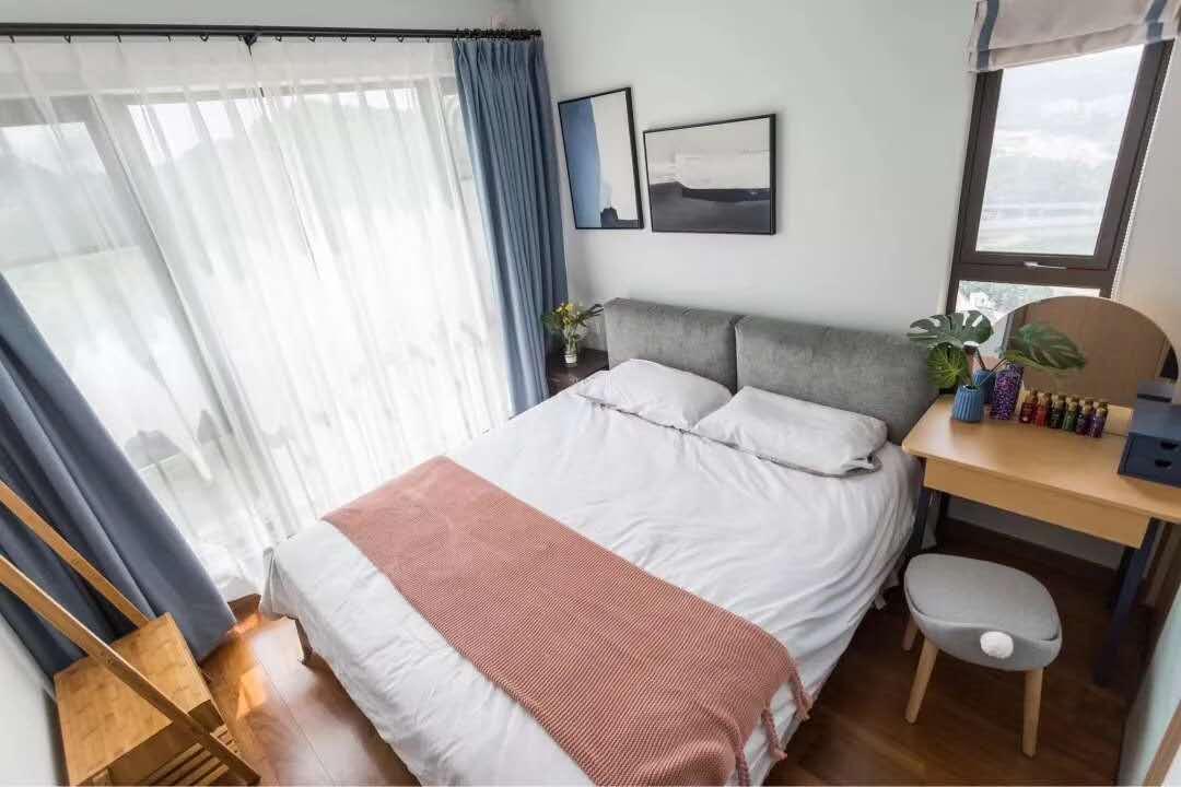 89㎡清新北欧风三居室,温馨精致舒适~