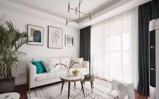 127㎡小清新北欧风,自在舒适的居家氛围!