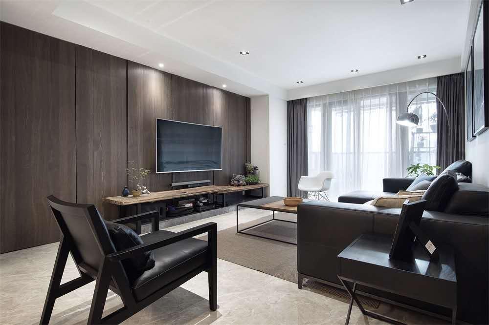 云南 昆明装修案例台式简约风,色调特别温暖柔和,空间也显得舒适温馨有格调