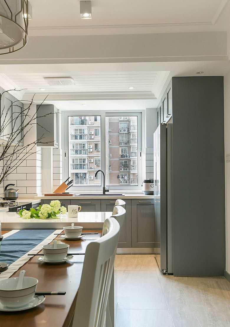 80m²现代美式风格家居,一个温馨舒适的小窝,小空间也可以打造小美式