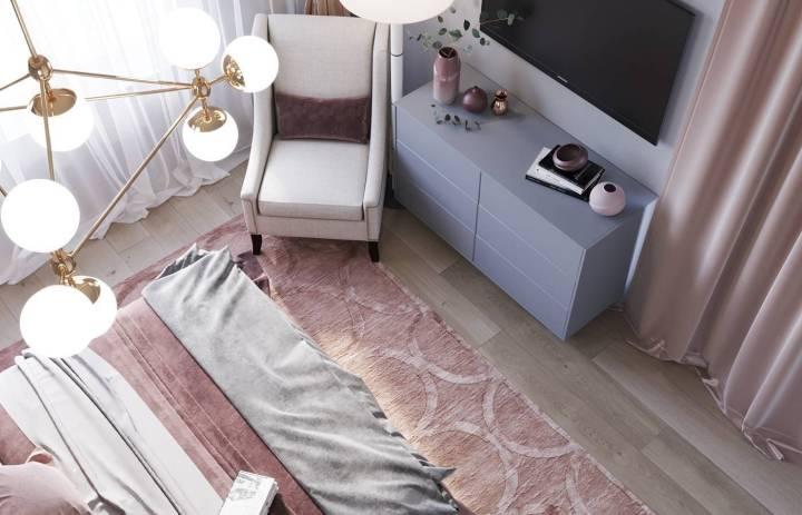 清新北欧风格家居装修设计,文艺女生的温暖如心之家