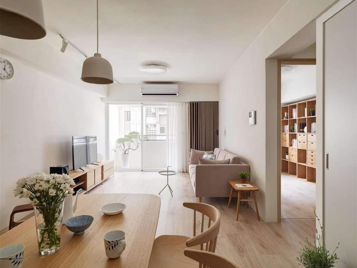 日式风格家居装修设计,自然木纹总是显得那么舒适温馨,好喜欢这种感觉!