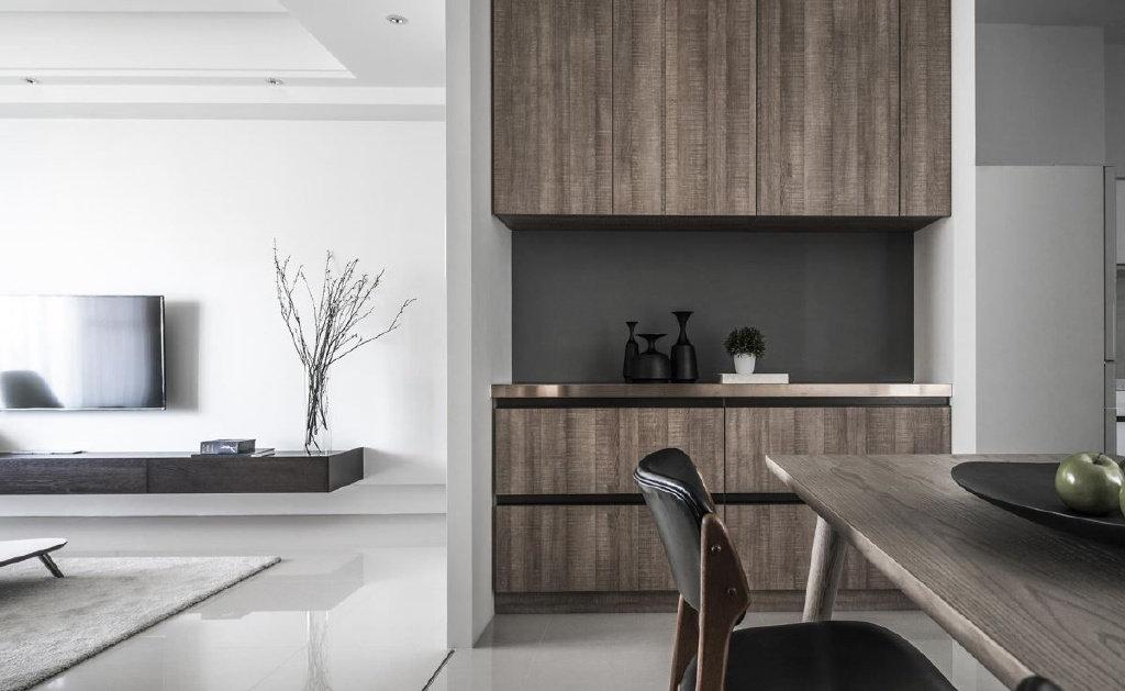 现代混搭三居室设计,温暖而素雅,舒适感爆棚!