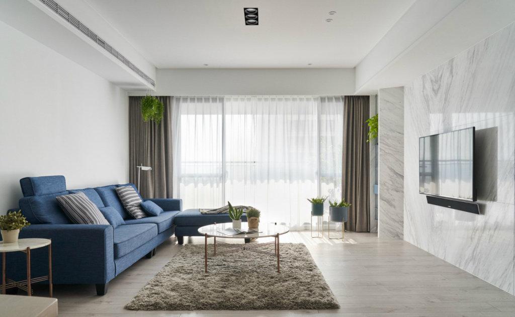 云南 昆明装修案例北欧极简风格家居,静谧空间的留白,非常有格调的气质住宅!
