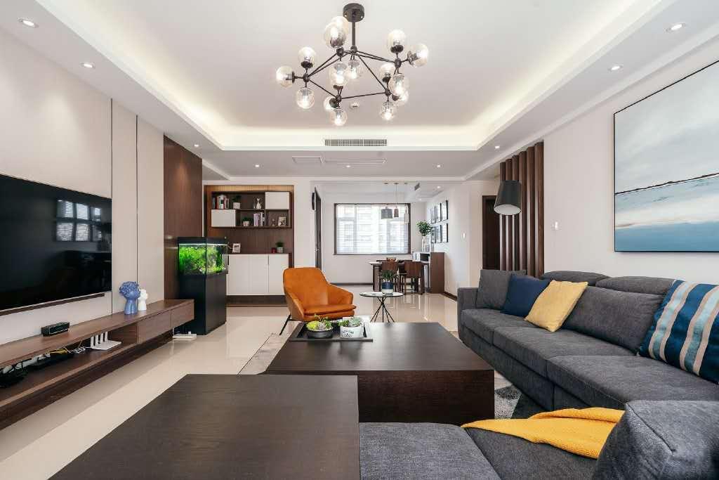 简约现代风三居室,要得就是那份精致浪漫的自然质感!