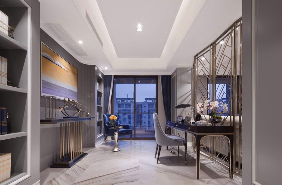 轻奢风格客餐厅卧室