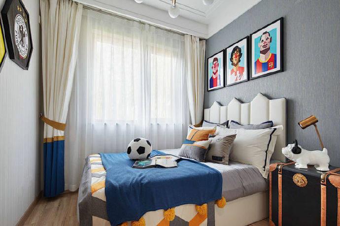 90m²新中式风格家居装修设计,简约的基础上加入了一些极具韵味的中国风元素!