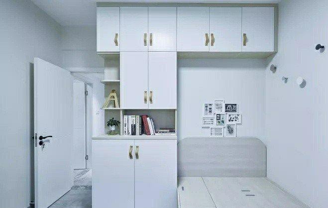 90m²宜家简约风,柔和的色调感觉特别清新舒适!