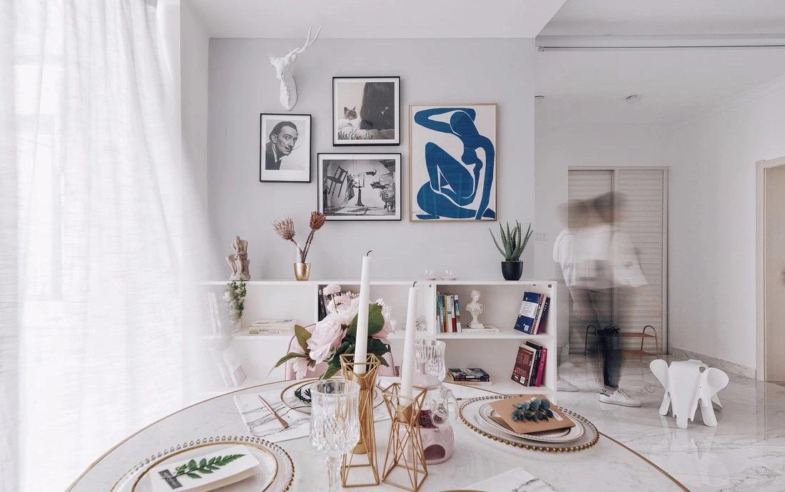 新房装饰画如何选择 分享4大空间的装饰画效果