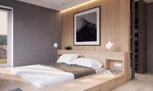卧室设计新风向——这样设计不仅能当床用还能收纳