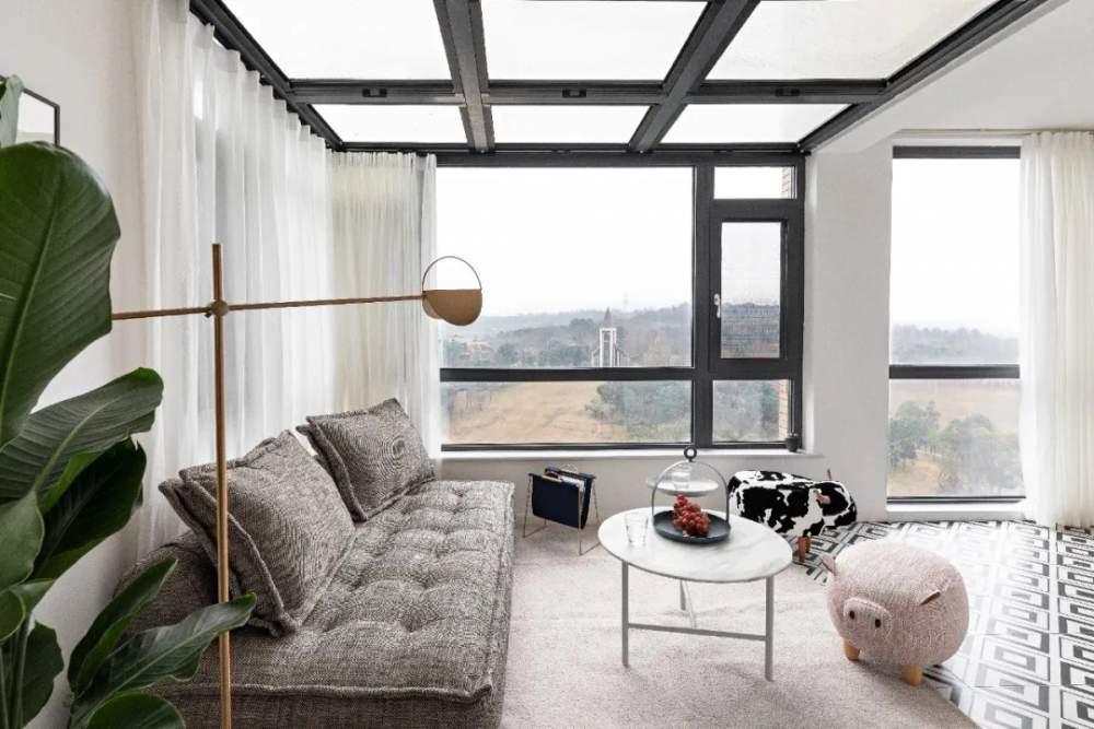 215㎡的家,超美的阳台~