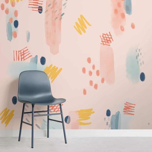 用图案墙纸装出属于自己的个性空间,你值得拥有!