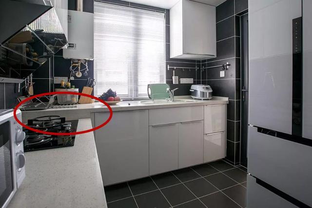 厨房现在流行做高低台设计 做饭一点都不累人