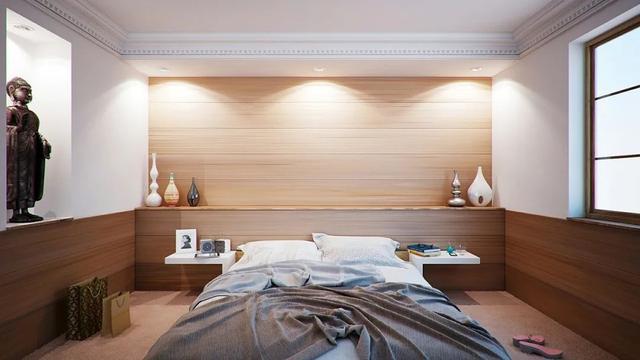 不到1㎡的床头设计方案 小小角落也要利用起来