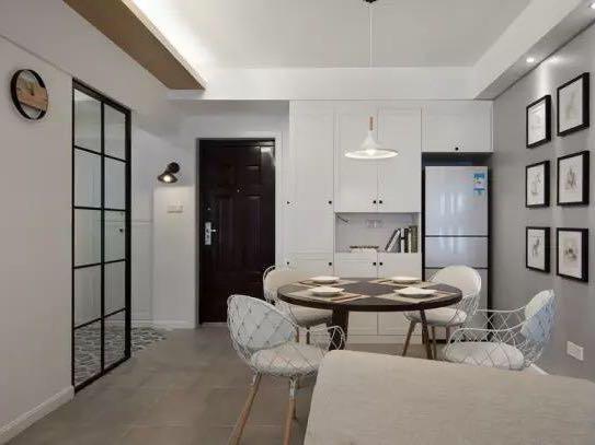 68㎡日式两居室,次卧做成全屋榻榻米,小户型的经典设计