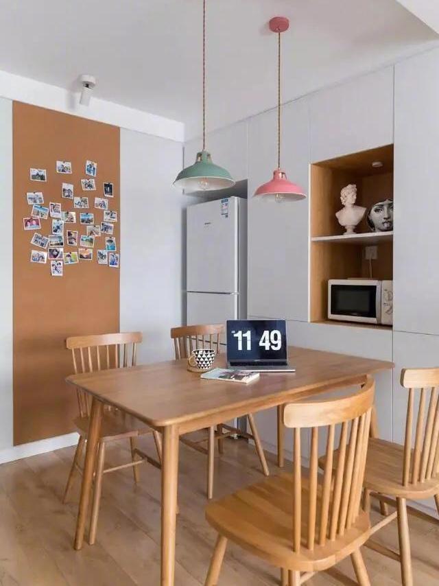 60平米的两室小户型,全屋北欧风,简洁舒适又温馨