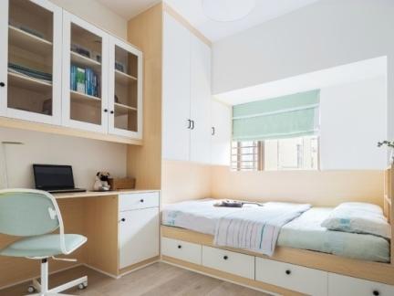 别人家的卧室好大 原来这样设计5㎡秒变10㎡