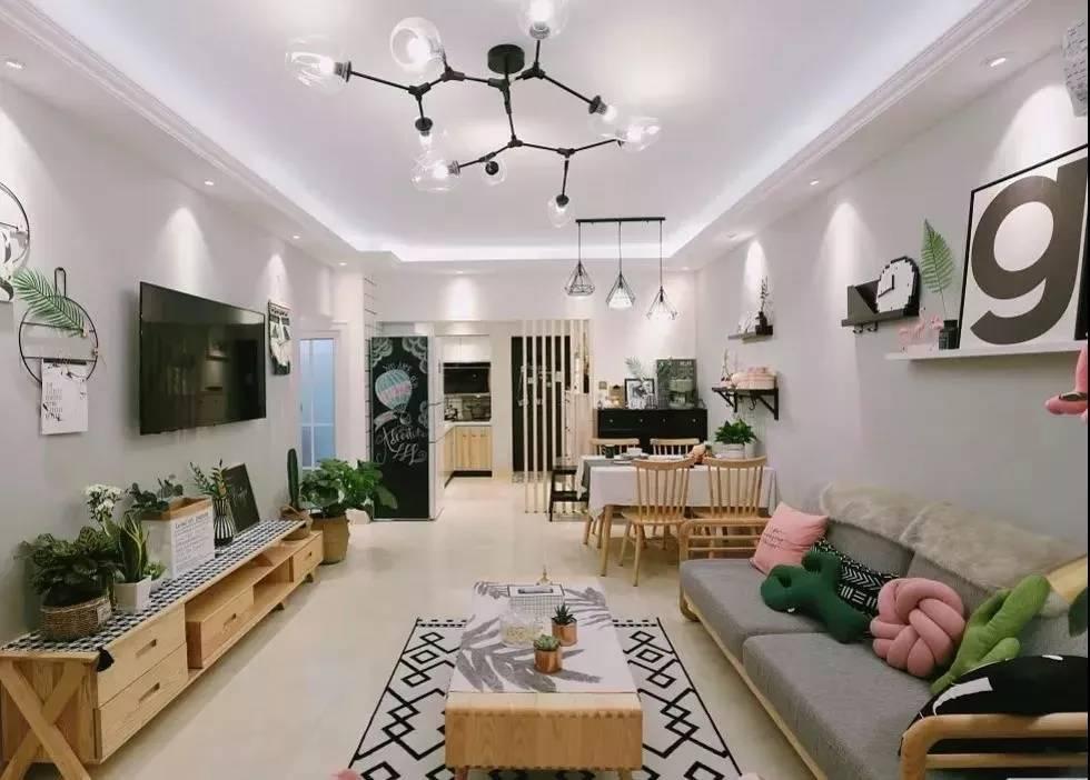客厅装射灯,视觉效果会更美,快来看看吧!