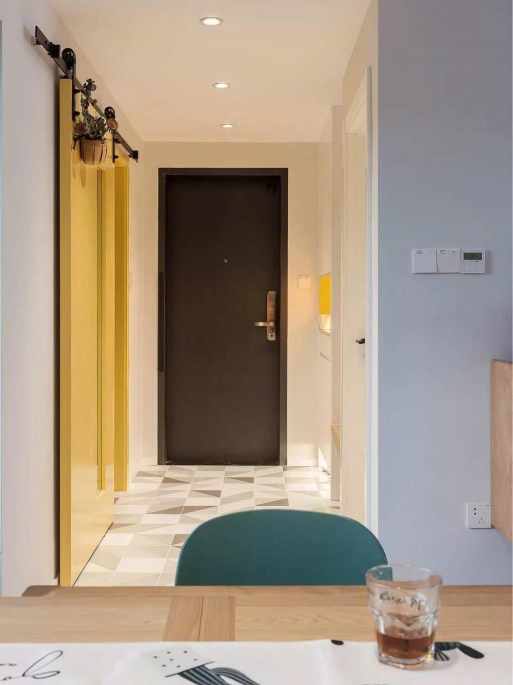 北欧风小户型,打造出粉嫩少女的舒适空间