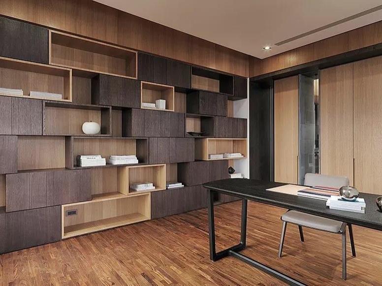 三室两厅,隐形移门分隔空间 ~ 