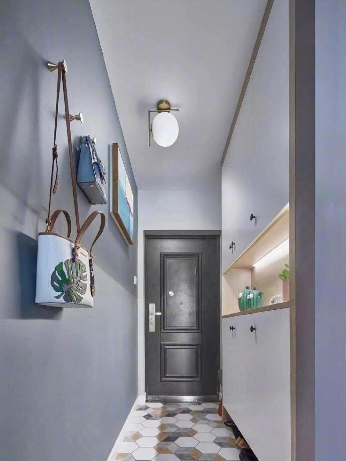 北欧风小户型,沙发背景墙的设计,真的好时尚 