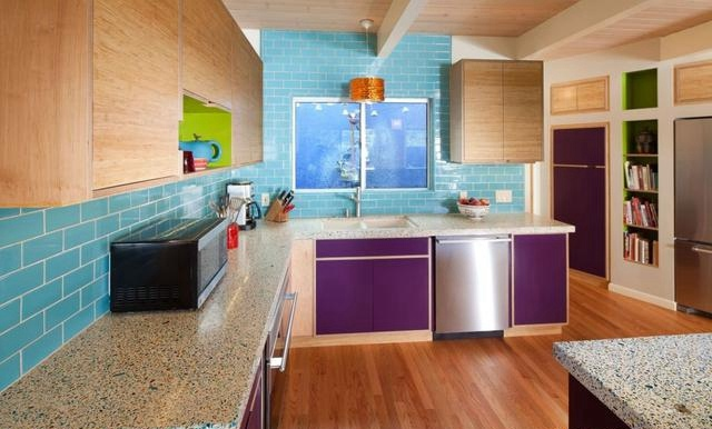 厨房颜色搭配指南,你值得拥有!