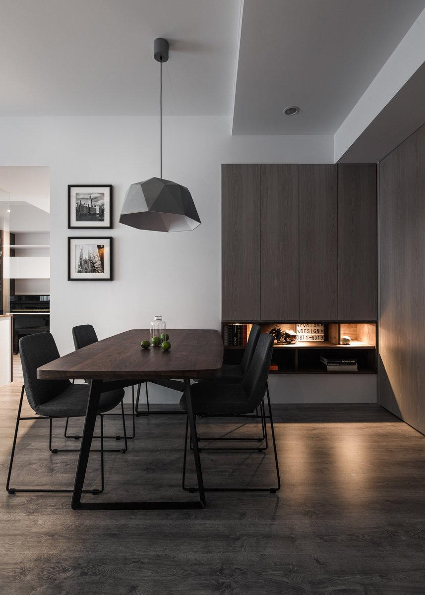 黑白灰现代简约一居室