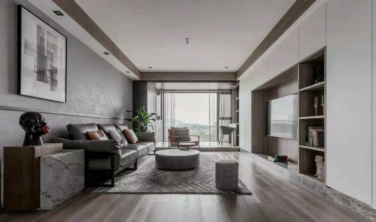 原木+高级灰 打造高标准美居