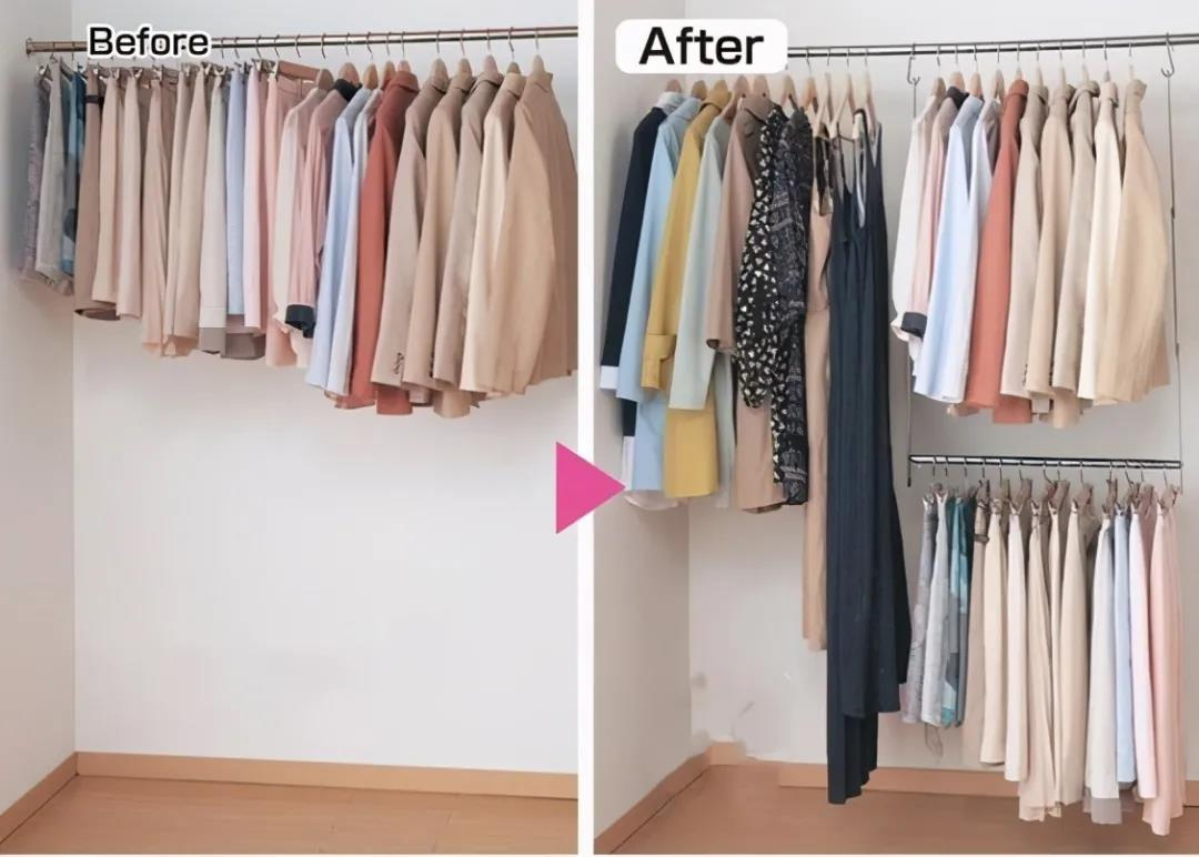 日本收纳称第二,没几个敢称第一,光整理衣柜这10招真让人服气