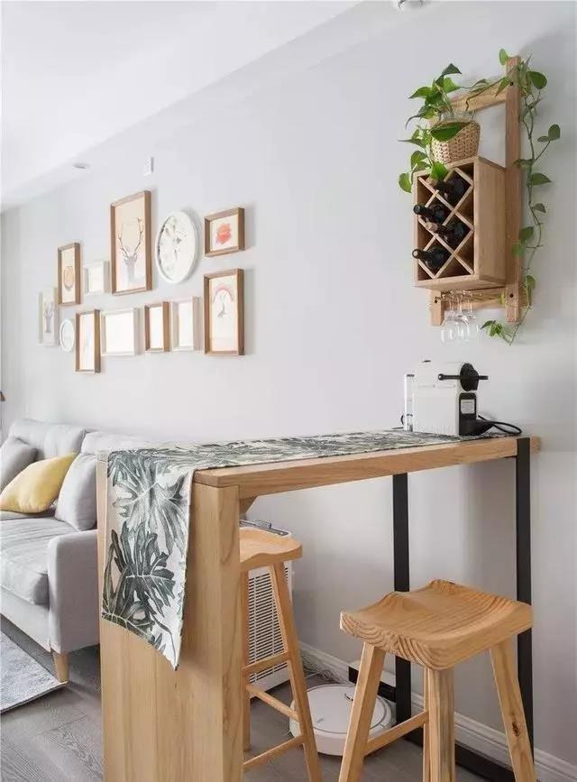 给你家的小户型装上一个情调满满的吧台